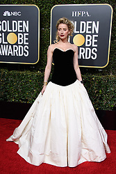 January 6, 2019 - Beverly Hills, California, United States of America - Amber Heard attends the 76th Annual Golden Globe Awards at the Beverly Hilton in Beverly Hills, California on  Sunday, January 6, 2019. HFPA/POOL/PI (Credit Image: © Prensa Internacional via ZUMA Wire)
