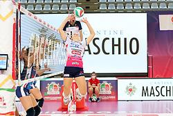 HANCOCK MICHA DANIELLE (NOVARA)<br /> FINAL FOUR COPPA ITALIA PALLAVOLO FEMMINILE<br /> RIMINI 14-03-2021<br /> FOTO FILIPPO RUBIN / LVF
