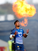 Rugby Union - 2021 / 2022 Gallagher Premiership - Round Three - Sale Sharks vs Exeter Chiefs - A J Bell Stadium - Sunday 3rd October 2021<br /> <br /> <br /> Denny Solomona  of Sale Sharks<br /> <br /> Credit COLORSPORT/Lynne Cameron