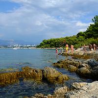 Marjan Park, walk and swiming,<br />Split, Croatia. 2018