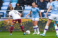 Manchester City Women forward Georgia Stanway (10) in action during the FA Women's Super League match between Manchester City Women and West Ham United Women at the Sport City Academy Stadium, Manchester, United Kingdom on 17 November 2019.
