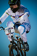 2012 Time Trial World Champion #11 (FIELDS Connor) USA at the 2012 UCI BMX Supercross World Cup in Abbotsford, Canada
