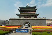 Bell Tower, 1384, Ming Dynasty, Xian, Shaanxi Province, China