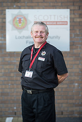 Keith Adams. News feature on the nearly all-female firefighting crew based at the Fire Shed, Lochaline, on the Morvern Peninsula.