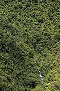 View from Carretera a Manu, Road leading into the Cloud forest, Manu, Peru, South America