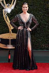 2018 Daytime Emmy Awards. 29 Apr 2018 Pictured: Renee Bargh. Photo credit: MEGA TheMegaAgency.com +1 888 505 6342