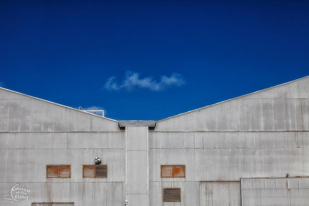 Former Hughes Aircraft hangar for the Spruce Goose, Silicon Beach, Playa Vista, Los Angeles, California, USA