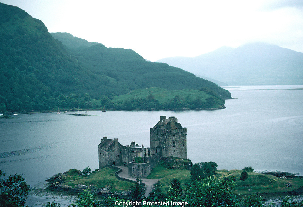 Strome Castle on the shore of Loch Carron.<br /> <br /> Looking across Loch Carron to the Applecross peninsula.<br /> <br /> Loch Carron (Scottish Highlands)<br /> <br /> Loch Carron (Scottish Highlands)<br /> Loch Carron <br />Photo by Dennis Brack