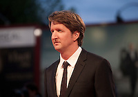 Director Tom Hooper at the gala screening for the film The Danish Girl  at the 72nd Venice Film Festival, Saturday September 5th 2015, Venice Lido, Italy.