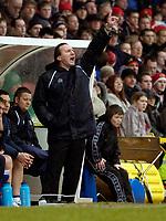 Photo: Leigh Quinnell.<br /> Bristol City v Huddersfield Town. Coca Cola League 1. 10/02/2007. Huddersfield boss Peter Jackson.