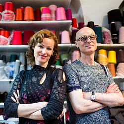 20170523: SLO, Fashion - Pletenine Draz made by Urska and Tomaz Draz