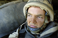 Western Iraq, IRAQ--3/27/03 -- US Army's 3/69 Task Force embedded photojournalist USA Today photographer Jack Gruber riding with Bravo Company 3-7 in the Iraqi Desert during the first days of the invasion of Iraq.  (Photo by Jack Gruber/USA Today)
