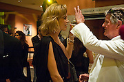 EVA HERZIGOVA; CHRISTIANNE, Mario Testino exhibition.  Hosted by Vanity Fair Spain and Lancome. Thyssen-Bornemisza Museum (Paseo del Prado 8, Madrid.20 September 2010.  -DO NOT ARCHIVE-© Copyright Photograph by Dafydd Jones. 248 Clapham Rd. London SW9 0PZ. Tel 0207 820 0771. www.dafjones.com.