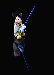 A Star Wars Mickey Mouse Collectible Figurine - Feel The Force