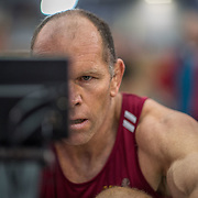 Warren Mant MALE HEAVYWEIGHT Masters C 2K Race #1 08:30am<br /> <br /> www.rowingcelebration.com Competing on Concept 2 ergometers at the 2018 NZ Indoor Rowing Championships. Avanti Drome, Cambridge,  Saturday 24 November 2018 © Copyright photo Steve McArthur / @RowingCelebration