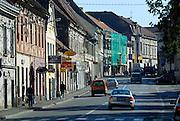Main street. Petrinja, Croatia