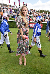 29 July 2021 - The QATAR Goodwood Festival Ladies Day at Goodwood Racecourse, West Sussex.<br /> Picture Shows - Hum Fleming.<br /> <br /> NON EXCLUSIVE - WORLD RIGHTS