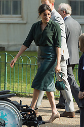 © Licensed to London News Pictures. 03/10/2018. London, UK. Meghan Duchess of Sussex visits the Royal Pavilion, Brighton. Photo credit: Ray Tang/LNP
