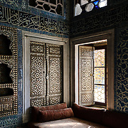 The Baghdad Kiosk (in Turkish: Bağdad Köşkü) in the Harem of the Topkapi Palace, the Ottoman palace in Istanbul's Sultanahmet district. It was built to commemorate teh Baghdad Campaign of Murad IV after 1638.