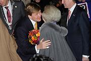 Viering 300 jaar Vrede van Utrecht  in de Domkerk.<br /> <br /> Celebrating 300 years in the Peace of Utrecht in the Dom Church.<br /> <br /> Op de foto:  Koningin Beatrix en prins Willem-Alexander<br /> <br /> Queen Beatrix and Prince Willem-Alexander