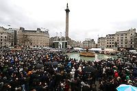 The Salesman - UK film premiere, Trafalgar Square, London UK, 26 February 2017, Photo by Richard Goldschmidt