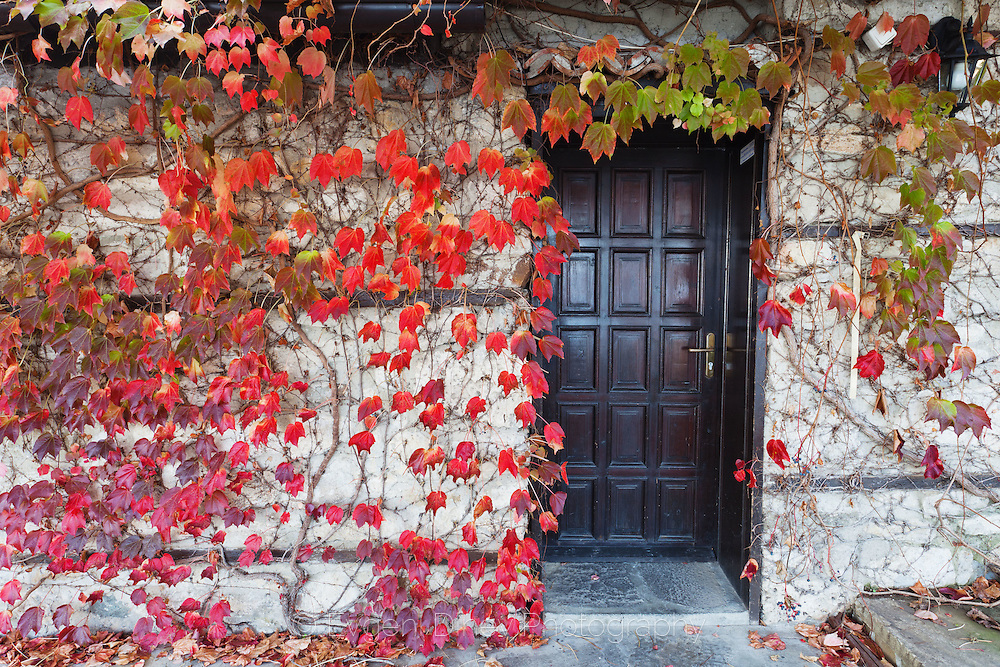 Ancient town of Nessebar in Autumn