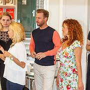 NLD/Amsterdam/20150612 - Boekpresentatie Thijs Römer en bladpresentatie Wendy van Dijk, Thijs en Katja Schuurman