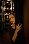 Ballerina, Dorothée Gilbert backstage at the Palais Garnier, Paris. <br /> <br /> From the chapter entitled 'Etoile' and from the book 'Risk Wise: Nine Everyday Adventures' by Polly Morland (Allianz, The School of Life, Profile Books, 2015). <br /> <br /> FOR REPRODUCTION OTHER THAN RELATED TO THE BOOK 'RISK WISE', PERMISSION FROM DOROTHEE GILBERT IS REQUIRED.