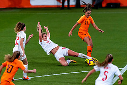 09-11-2018 NED: UEFA WC play-off final Netherlands - Switzerland, Utrecht<br /> European qualifying for the 2019 FIFA Women's World Cup - /