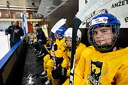 Nik Gomboc during practice at Hockey Academy of Anze Kopitar and Tomaz Razingar, on July 9, 2019 in Ice Hockey arena Bled, Slovenia. Photo by Vid Ponikvar / Sportida