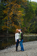 10/14/12 9:34:43 AM - Newtown, PA.. -- Amanda & Elliot October 14, 2012 in Newtown, Pennsylvania. -- (Photo by William Thomas Cain/Cain Images)