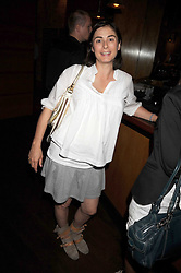 """FRANCESCA AMFITHEATROF at a party and exclusive private view of 'Naked Portrait With Reflection"""" by Lucian Freud hosted by Christie's held at 17 Berkeley Street, London on 17th June 2008.<br /><br />NON EXCLUSIVE - WORLD RIGHTS"""