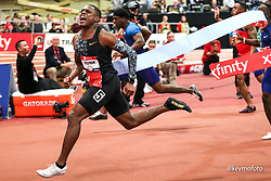 2020 USATF Indoor Championship<br /> Albuquerque, NM 2020-02-15<br /> photo credit: © 2020 Kevin Morris<br /> mens 60m final, Nike