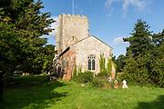 Village parish church of Saint Mary, Bawdsey, Suffolk, England, UK