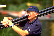 Peter Spurrier Sports  Photo<br />email pictures@rowingpics.com<br />Tel 44 (0) 7973 819 551<br />Photo Peter Spurrier<br />Lucerne Regatta coach Mike Spracklen