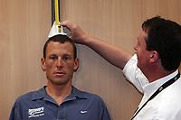 Sykkel<br /> Tour de France 2005<br /> 30.07.2005<br /> Foto: PhotoNews/Digitalsport<br /> NORWAY ONLY<br /> <br /> LANCE ARMSTRONG