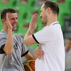 20100810: SLO, Basketball - Practice of Slovenia national team in new sports arena in Stozice