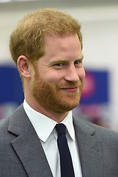 The Duke of Sussex attends the opening match of the 2019 ICC Cricket World Cup between England and South Africa at The Oval in London.