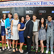 The Jonas family and guests