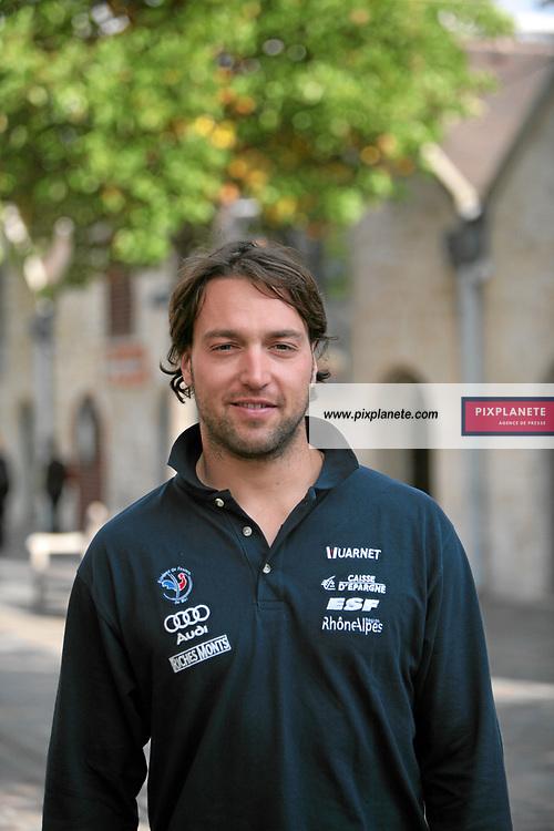 Pierre Emmanuel Dalcin - présentation de l'équipe de France de ski 2007-2008 - Photos exclusives - 9/10/2007 - JSB / PixPlanete