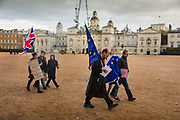 Together for the final say march for a People¹s Vote on 19th October 2019 in London, United Kingdom. On this day parliament will be sitting on a Saturday for the first time since the 1980s, as time runs out before the PM is supposed to ask the EU for a three month extension by law under the Benn Act. With less than two weeks until the UK is supposed to be leaving the European Union, the final result still hangs in the balance and protesters gathered in their hundreds of thousands to make political leaders take notice and to give the British public a vote on the final Brexit deal, with the aim to revoke Article 50.