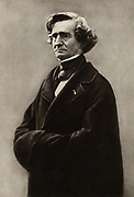 (Louis) Hector Berlioz (1803-1865) French Romantic composer.  From a photograph by Nadar, pseudonym of Gaspard-Felix Tournachon (1820-1910).