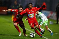 FOOTBALL - FRENCH CHAMPIONSHIP 2009/2010  - L1 - LE MANS UC v AS SAINT ETIENNE - 29/11/2009 - PHOTO ERIC BRETAGNON / DPPI - LUDOVIC BAAL (MUC)