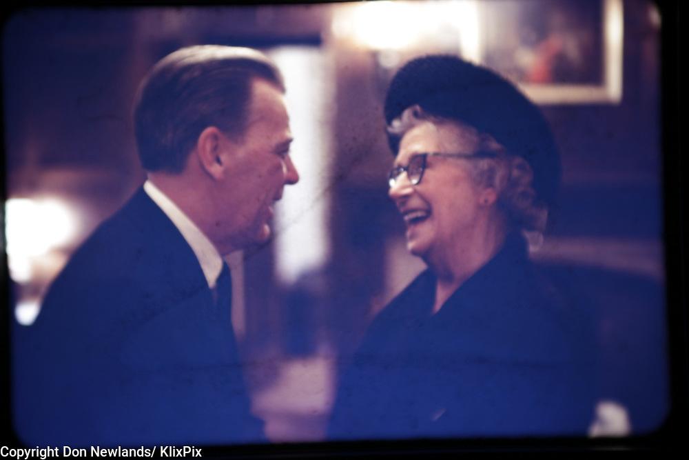 "Eric Kierans, economist, politician, February 1968, ""Ma"" Murray, woman, publisher"