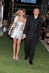 LISA TCHENGUIZ and STEVE VORSARI at Gabrielle's Gala an annual fundraising evening in aid of Gabrielle's Angel Foundation for Cancer Research held at Battersea Power Station, London on 2nd May 2013.