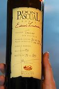 Bottle of Don Pascual Roble Edicion Limitada Limited Edition Tannat Sin Filtrar not filtered 1996 Bodega Juanico Familia Deicas Winery, Juanico, Canelones, Uruguay, South America