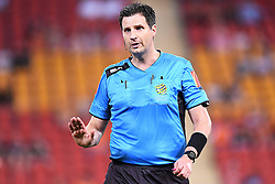 January 18, 2018 - Brisbane, QUEENSLAND, AUSTRALIA - Match referee Kris Griffith-Jones is seen during the round seventeen Hyundai A-League match between the Brisbane Roar and the Perth Glory at Suncorp Stadium on January 18, 2018 in Brisbane, Australia. (Credit Image: © Albert Perez via ZUMA Wire)