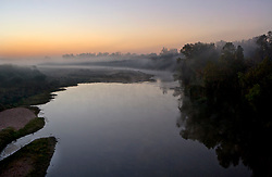 Colorado River from I10 Bridge near Columbus, Texas 110812