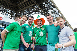 Irish fans are again proving to be a popular tourist site wherever they go. Images from the UEFA EURO 2016, 14 June 2016 in Fan Zone. (c) Paul Roberts   Edinburgh Elite media. All Rights Reserved