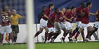 1:0 Jubel durch Sergej Barbarez HSV links mit Rafael Van Der Vaart<br /> Fussball UI-Cup Finale Hamburger SV - Valencia CF<br /> NORWAY ONLY